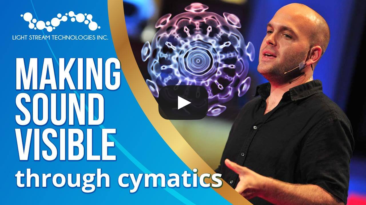 When Sound Becomes Visible - Cymatics