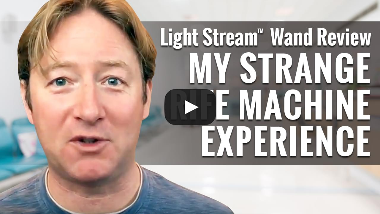Jacob Caldwell's Personal Light Stream™ Wand Experience
