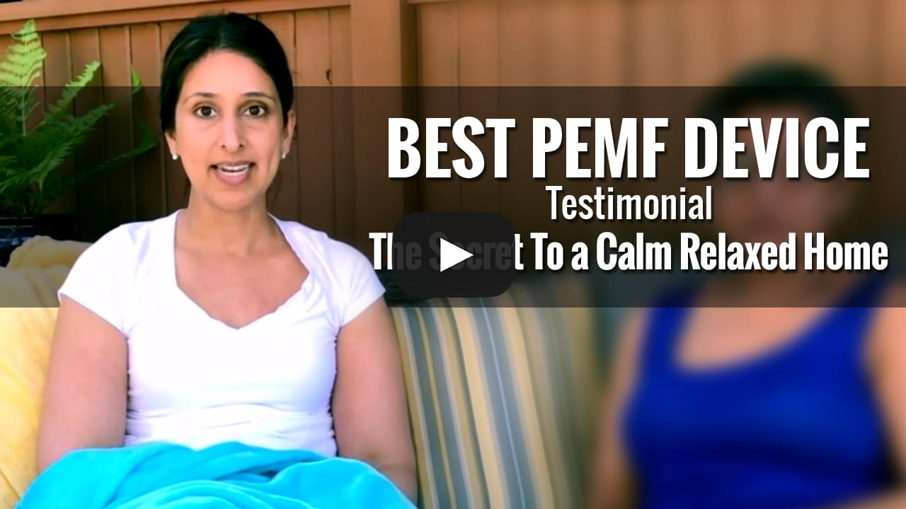 PEMF Device Testimonial - The Secret To a Calm Relaxed Home